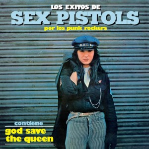 LOS PUNK ROCKERS ‎– Los Exitos De Sex Pistols LP