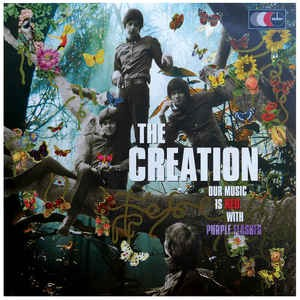 CREATION - Our Music Is Red With Purple Flashes 2LP