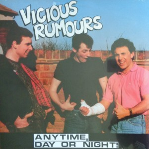 VICIOUS RUMOURS - Any Time, Day or Night! LP