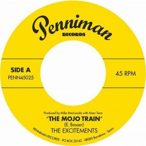 EXCITEMENTS ‎– The Mojo Train 7""