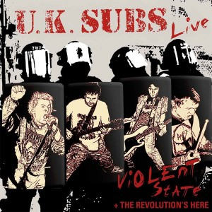 U.K. SUBS – Violent State + The Revolution's Here 2LP