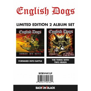ENGLISH DOGS - Forward Into Battle / The Thing With Two Heads 2LP