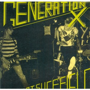 GENERATION X – Live At Sheffield LP