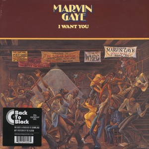 GAYE, MARVIN - I Want You LP