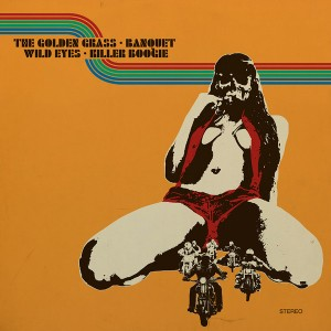 The Golden Grass, Killer Boogie, Wild Eyes S.F., Banquet ‎– 4-Bands Split Vol.2 2LP