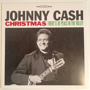 CASH, JOHNNY - Christmas - There'll Be Peace In The Valley LP