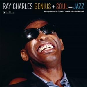 CHARLES, RAY  – Genius + Soul = Jazz LP