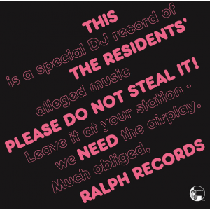 RESIDENTS - Please Do Not Steal It LP