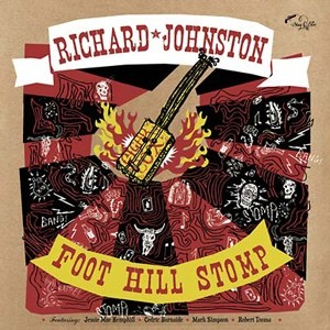JOHNSTON, RICHARD - Foot Hill Stomp LP