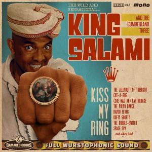 KING SALAMI AND THE CUMBERLAND THREE - Kiss My Ring LP