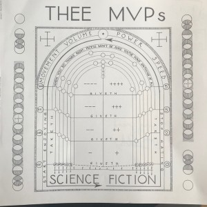 THEE MVPS - Science Fiction LP