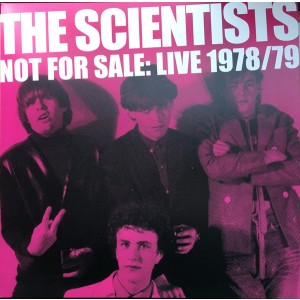SCIENTISTS - Not For Sale: Live 1978/79 2LP