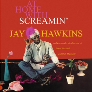 SCREAMIN' JAY HAWKINS ‎– At Home With Screamin' Jay Hawkins LP