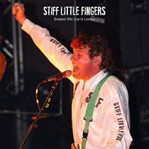 STIFF LITTLE FINGERS - Greatest Hits Live In London LP