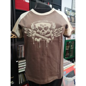 DEAFNESS BY NOISE Dbn [brown] T-SHIRT