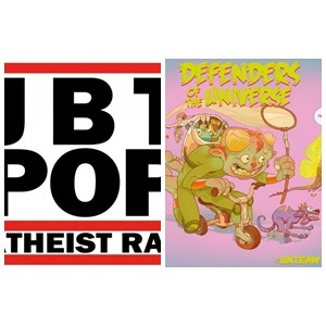 DEFENDERS OF THE UNIVERSE / ATHEIST RAP -  #Unterwegs / JBT POP LP