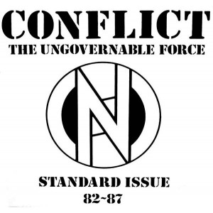 CONFLICT - Standard Issue 82 ~ 87 LP