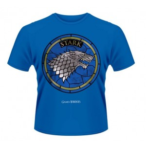 GAME OF THRONES Stark Stained Glass T-SHIRT