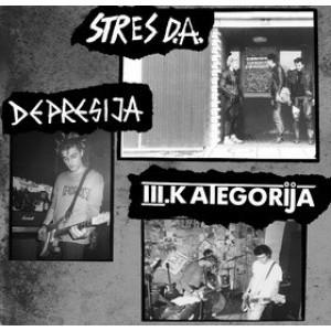 V/A - STRES D.A. / DEPRESIJA / III. KATEGORIJA LP