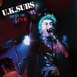 UK SUBS - Best Of Live LP