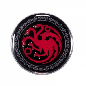 GAME OF THRONES Targaryen METAL PIN