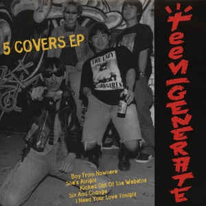 TEENGENERATE Five Covers EP 7""