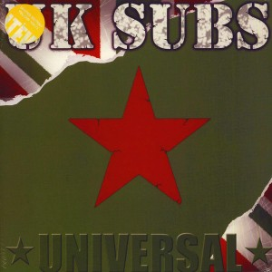 UK SUBS - Universal 2LP