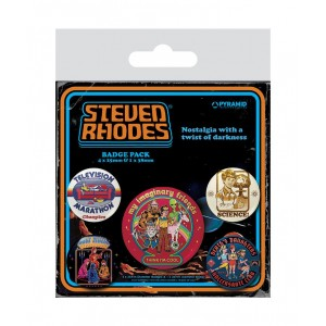 STEPHEN RHODES Collection 5-Pack BADGEVI