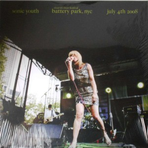 SONIC YOUTH - Battery Park NYC, July 4th 2008 LP