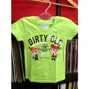 Dirty Young and Proud KIDS [green] T-SHIRT